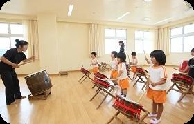 教育へのこだわり① 市川照子先生による太鼓教室
